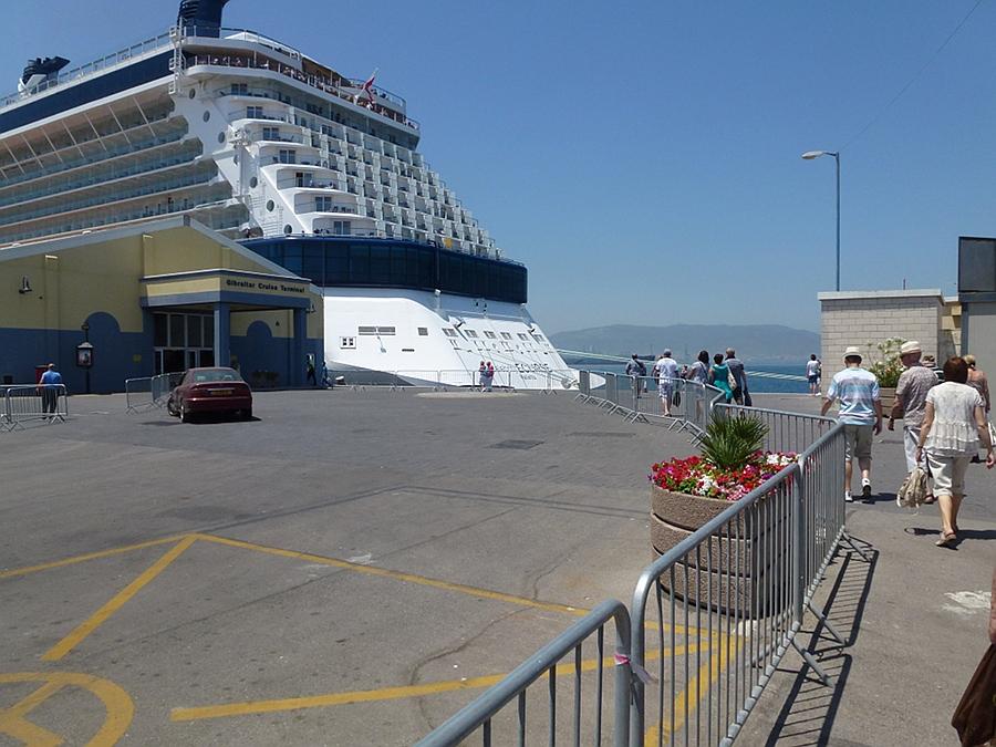 Gibraltar - ship in port