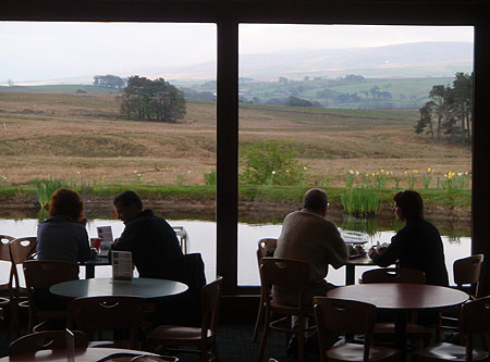 Tebay - on the way back from Glasgow