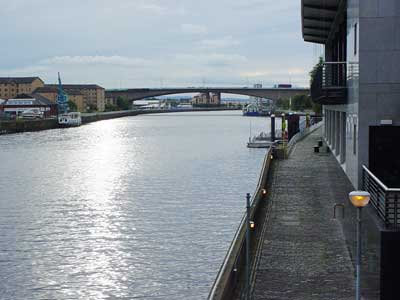 The Clyde in Glasgow