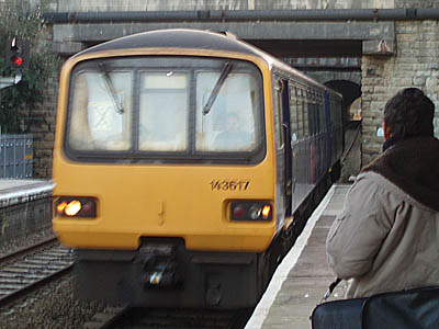 Train to Great Malvern