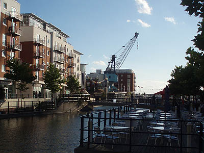 The Canal Section at Gun Wharf