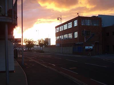 Gosport at Sunset