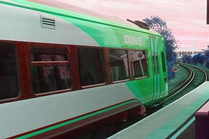 How green is my train?
