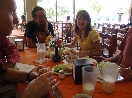 Lunch in Guadalajara