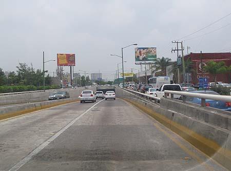 Highway Scene, Mexico