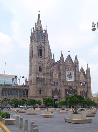 El expiatorio, a beautiful neo-gothic church
