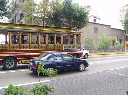 A Tourist Trolley