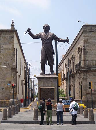 Don Miguel Hidalgo, the starter of the Mexican Independence in 1810