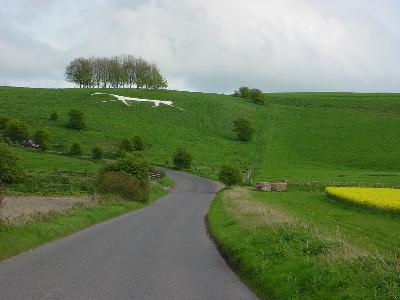 White Horse, Hackpen Hill