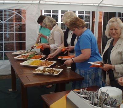 An event at Well House Manor, Melksham