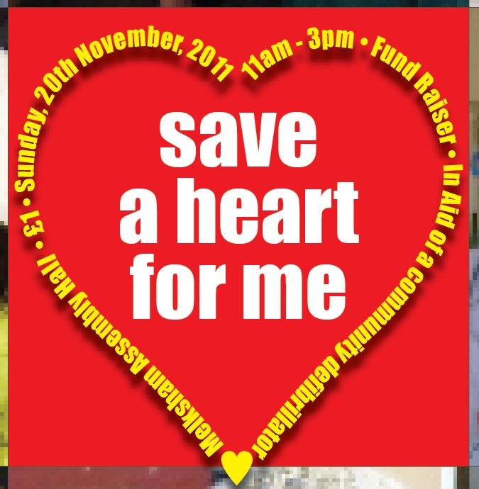 Defibrillator Campaign - Save a Heart