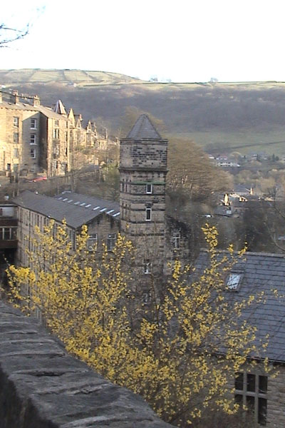 Evening over Hebden Bridge