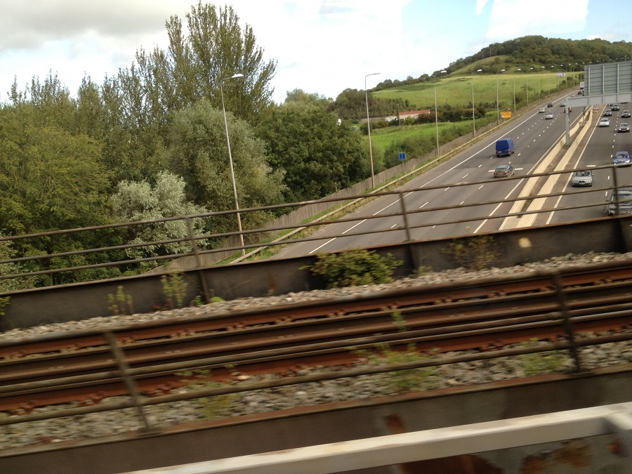 M5 from Henbury to Avonmouth special train