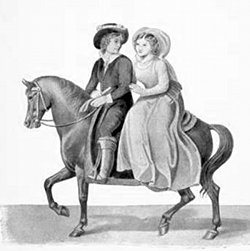 Henry and Jenny on a horse