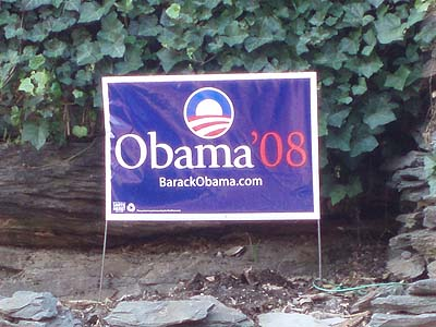 Obama Campaign poster, Harpers Ferry