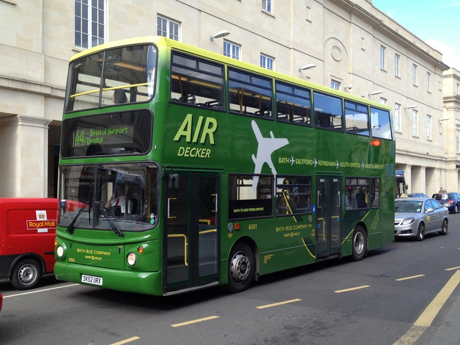 Direct bus from Bath to Bristol Airport