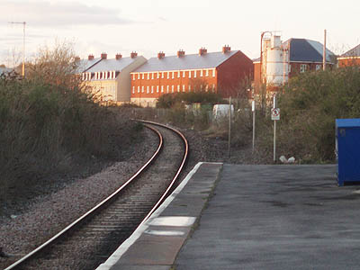 Houses at Melksham Station