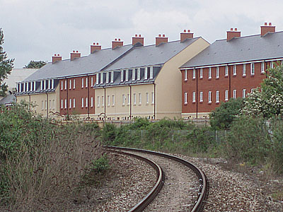 Housing at Melksham Station