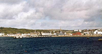 Stronoway, Isle of Lewis, from the Ferry