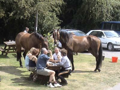 Honey Street - arrive by horse