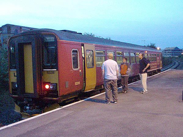 At Melksham Station