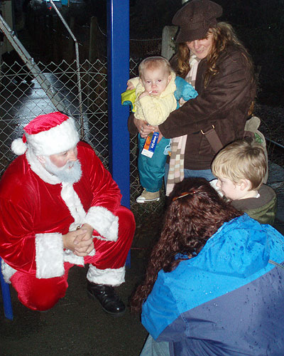 Father Christmas at Melksham