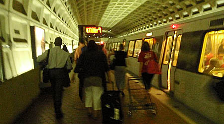 At Pentagon City Metro Ststion