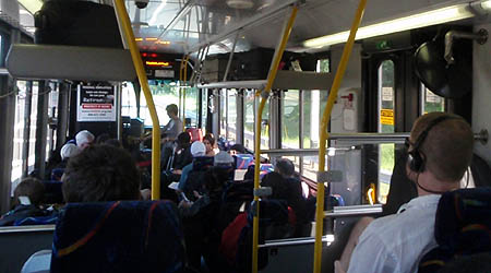 Metro bus route 5A - Washington Dulles to Rosslyn for metro connections