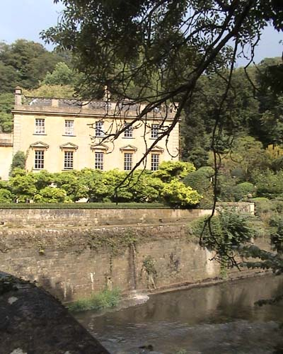 Iford Manor across the river
