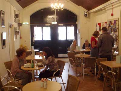 In the Melksham Art Cafe