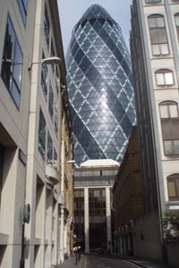 In the shadow of the Gherkin