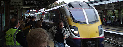 FGW are overcrowded, but sending this train to storage