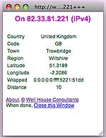 IP address - Trowbridge