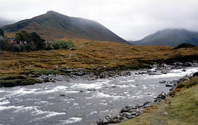 West Highland scenery near Kyle of Lochalsh
