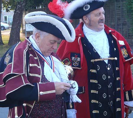 Melksham Carnival - town criers