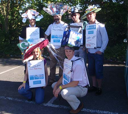 Float team - Melksham Carnival
