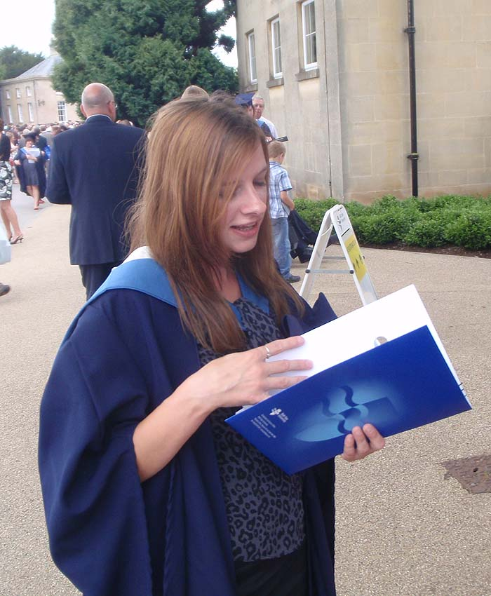 Kimberly - with degree Certificate