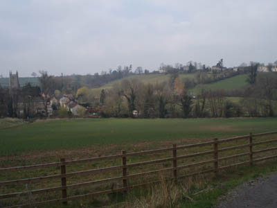 Kilmersdon Village from the Colliers Way