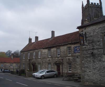 Kilmersdon - Church and Pub