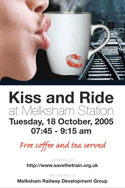 Kiss and Ride Advert