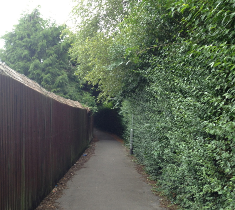 The lost canal walk in Melksham