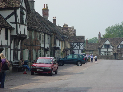 The High Street at Lacock