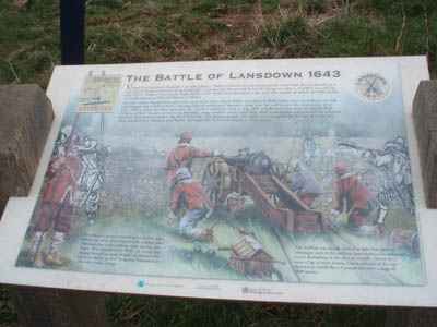Lansdown - Interpretation boards