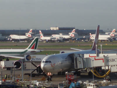 London Heathrow, Airside