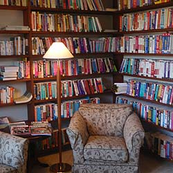 The Library at Well House Manor