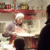 Food at Ljubljana Christmas Fayre