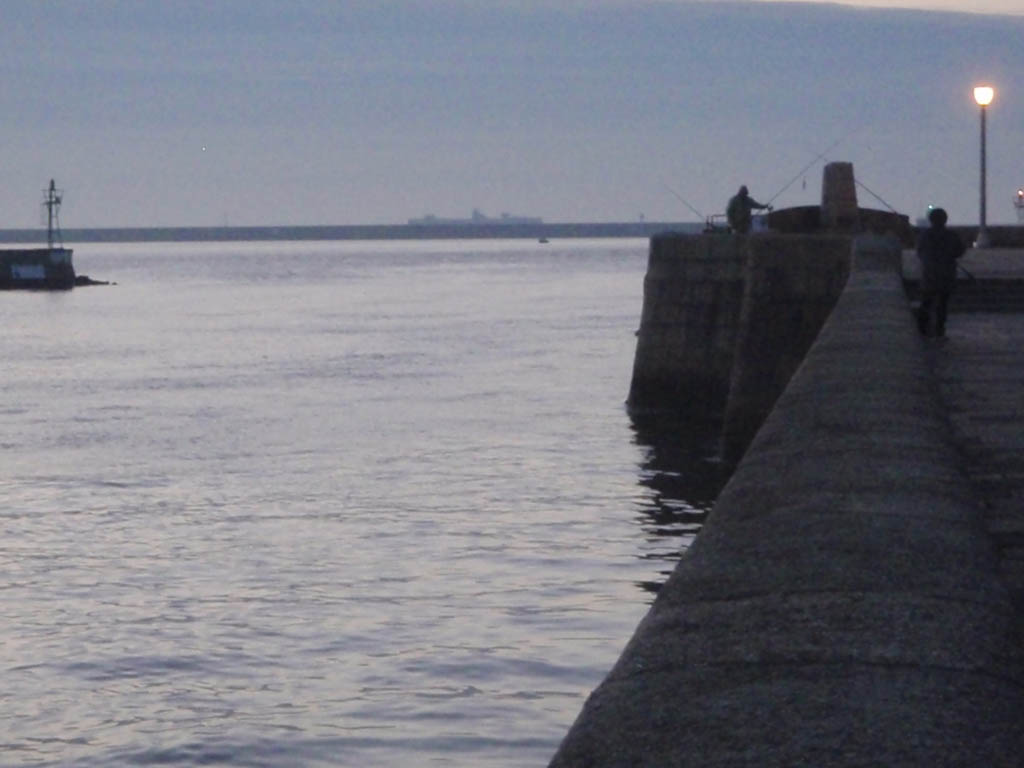 Cherbourg Harbour Wall