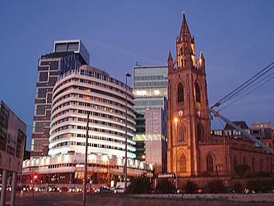 Liverpool, evening