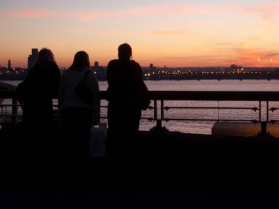 Looking over the Mersey