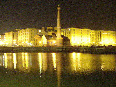 Albert Dock, Liverpool, evening